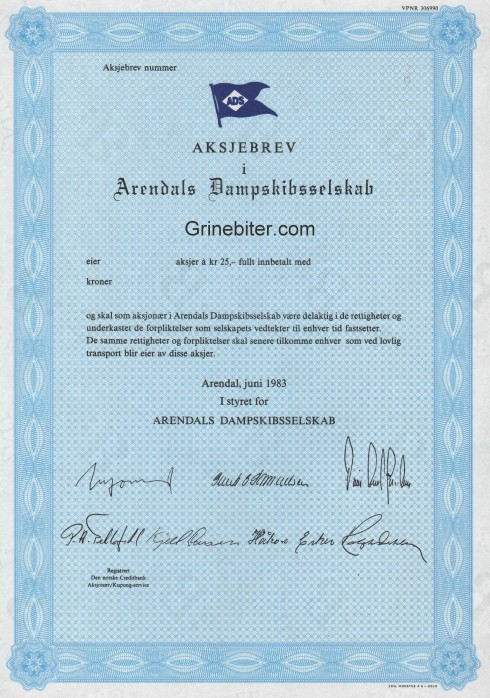 Arendals Dampskibsselskap