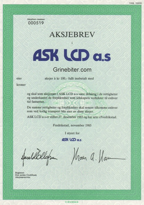 Ask Lcd
