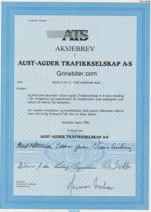 Aust-Agder Trafikkselskap
