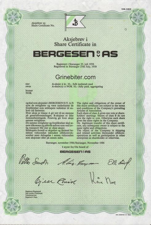 Bergensen