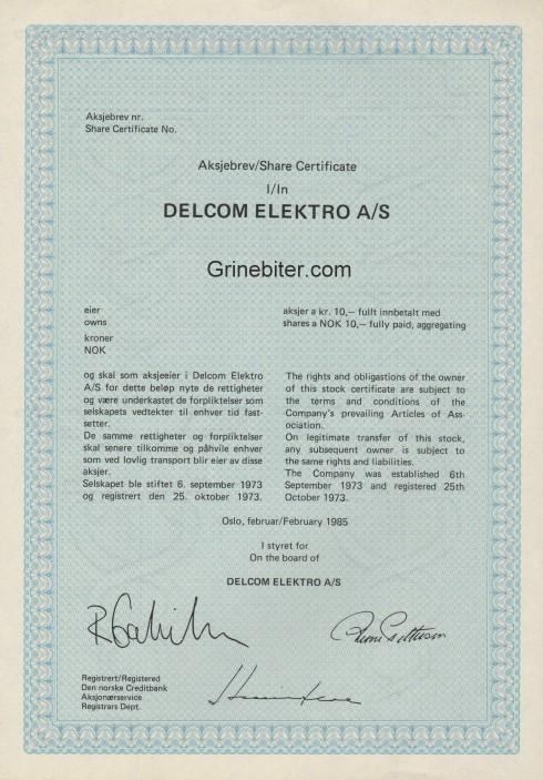 Delcom Elektro