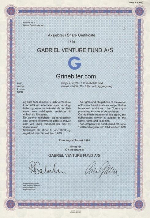 Gabriel Venture Fund