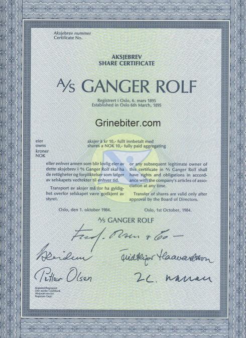 Ganger Rolf