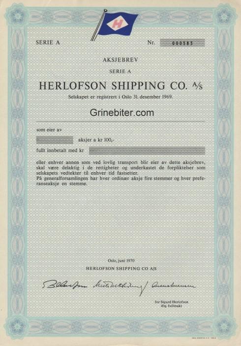Herlofson Shipping