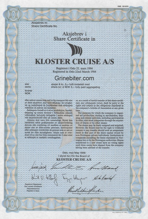 Kloster Cruise