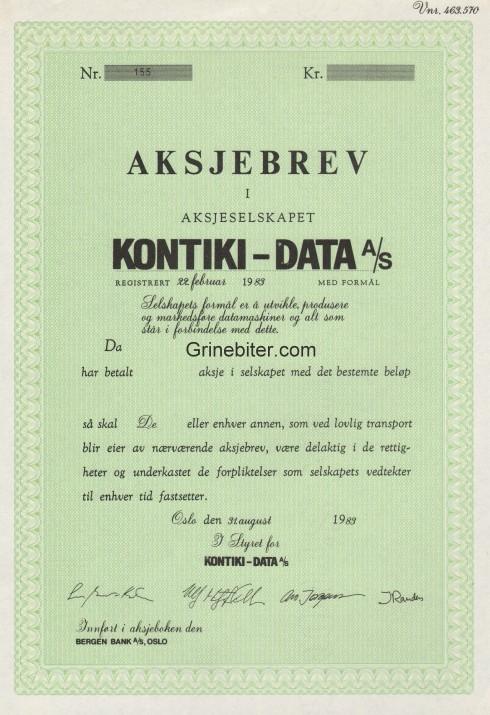 Kontiki-Data