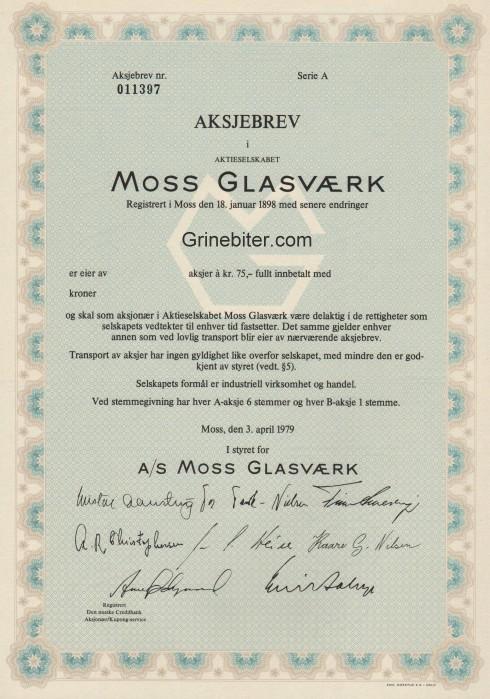 Moss Glasværk