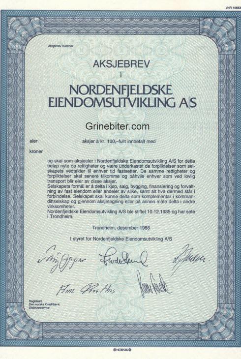 Nordenfjeldske Eiendomsutvikling