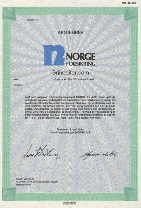 Norge Forsikring