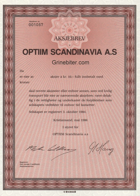 Optiim Scandinavia