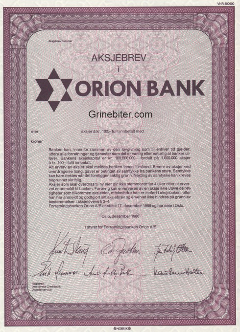 Orion Bank