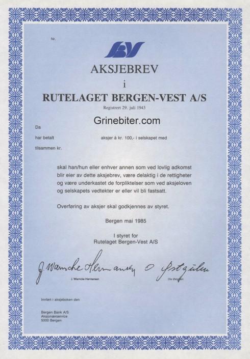 Rutelaget Bergen-Vest