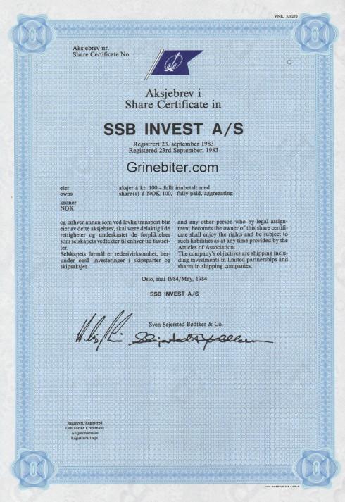SSB Invest