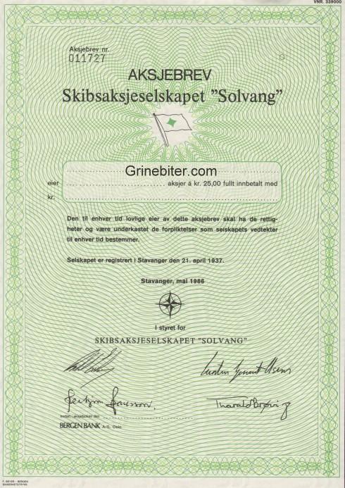 Solvang Skibs