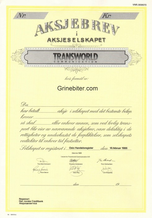 Transworld Communication