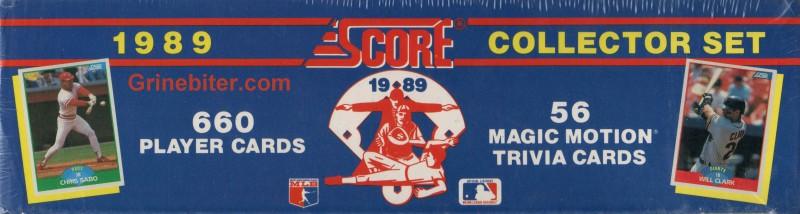 Score Collector 1989