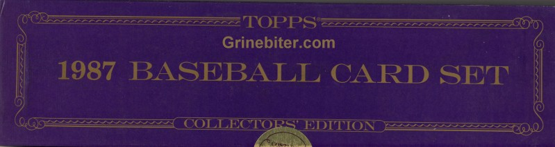 Topps Collector 1987