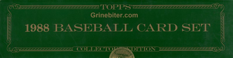 Topps Collector 1988