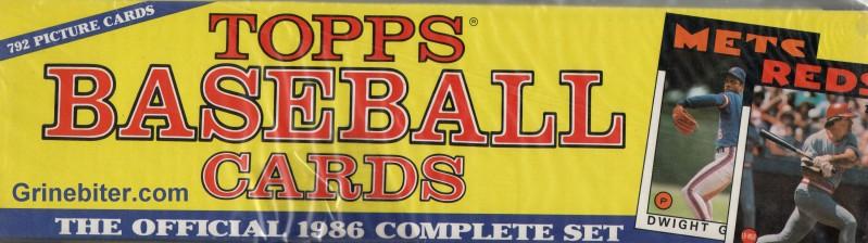 Topps 1986