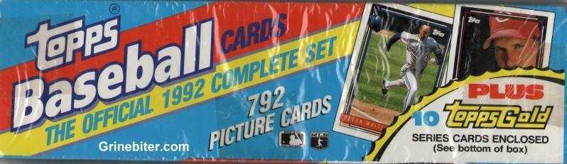 Topps Set 1992