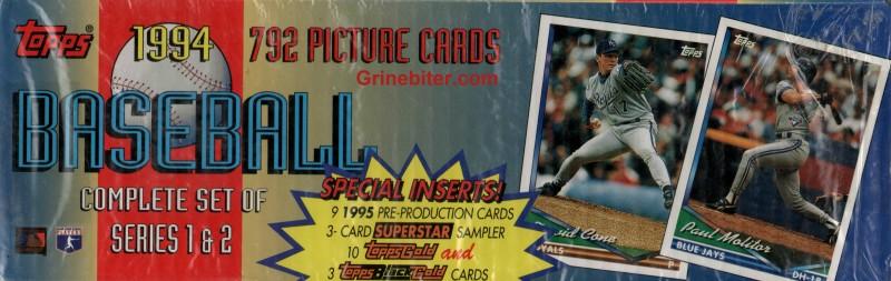 Topps Set 1994