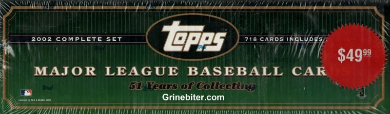 Topps Set 2002