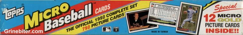 Topps Micro 1992