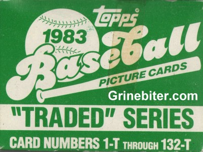 Topps Traded Series 1983