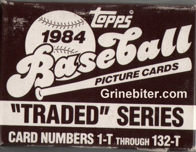 Topps Traded Series 1984