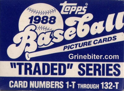 Topps Traded Series 1988