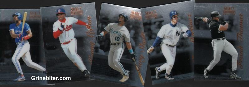 Pinnacle Certified Complete Baseball Set