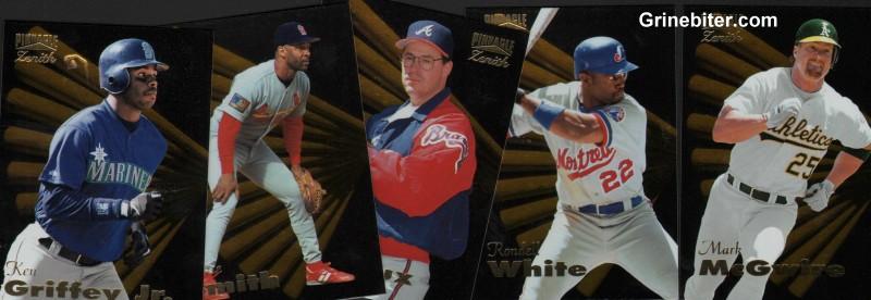 Pinnacle Zenith Complete Baseball Set