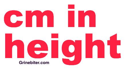 Cm In Height Converter