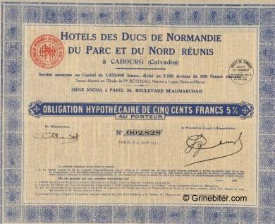 Hotels des Ducs De Normandie