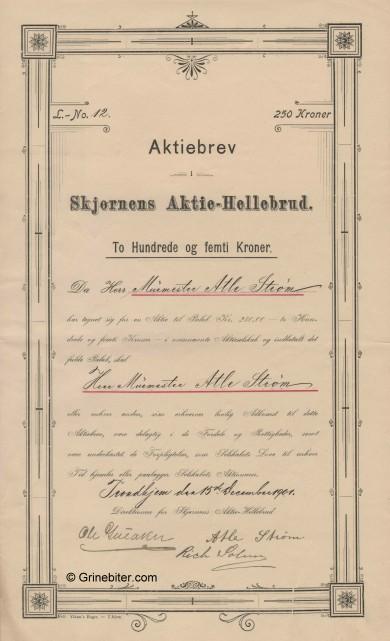 Skjørnes Aktie-Hellebrud
