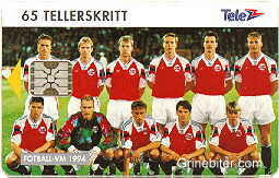 Fotball Norway Team 1994