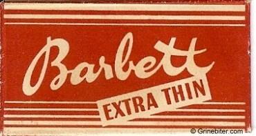 Barbett Razor Blade Wrapper