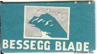 Bessegg Razor Blade Wrapper