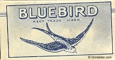 Bluebird Razor Blade Wrapper