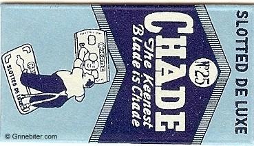 Chade Razor Blade Wrapper