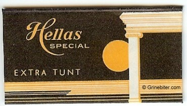 Hellas Razor Blade Wrapper