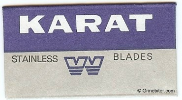 Karat Razor Blade Wrapper