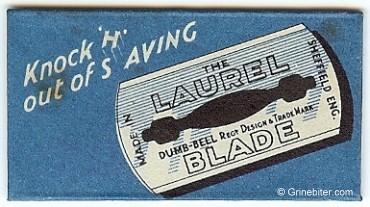 Laurel Razor Blade Wrapper