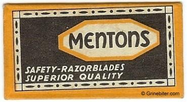 Mentons Razor Blade Wrapper