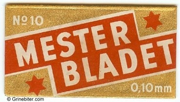 Mester Bladet Razor Blade Wrapper