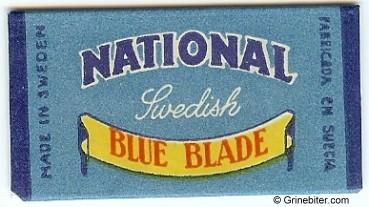 National Razor Blade Wrapper