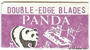 Panda Razor Blade Wrapper
