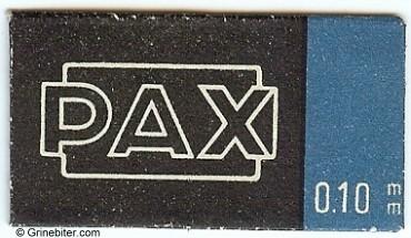 Pax Razor Blade Wrapper