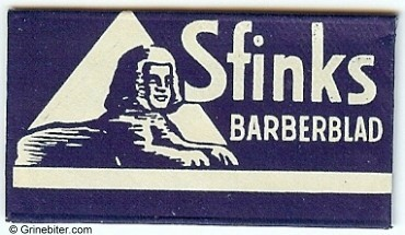 Sfinks Razor Blade Wrapper