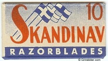Skandinav Razor Blade Wrapper